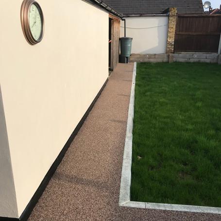 Residential garden, Surrey