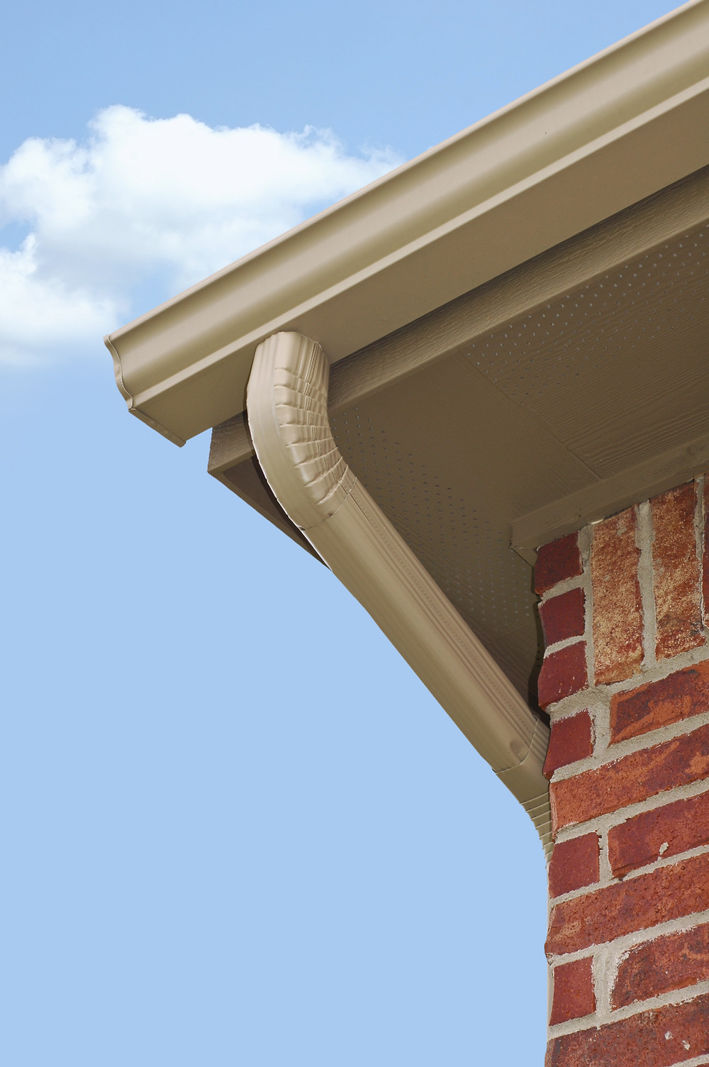 k style gutters installed