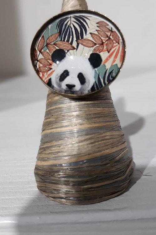 Anello regolabile panda