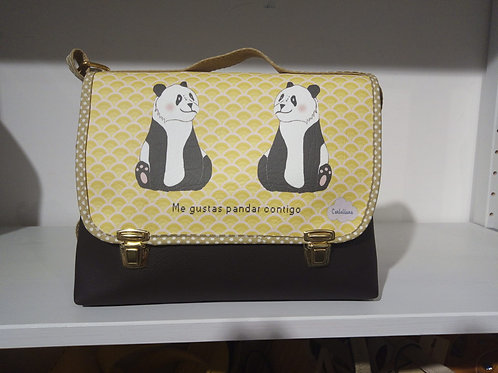 Tracolla mini panda