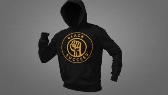 Black Success New logo Hoodie