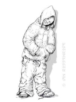 hoodie sketch