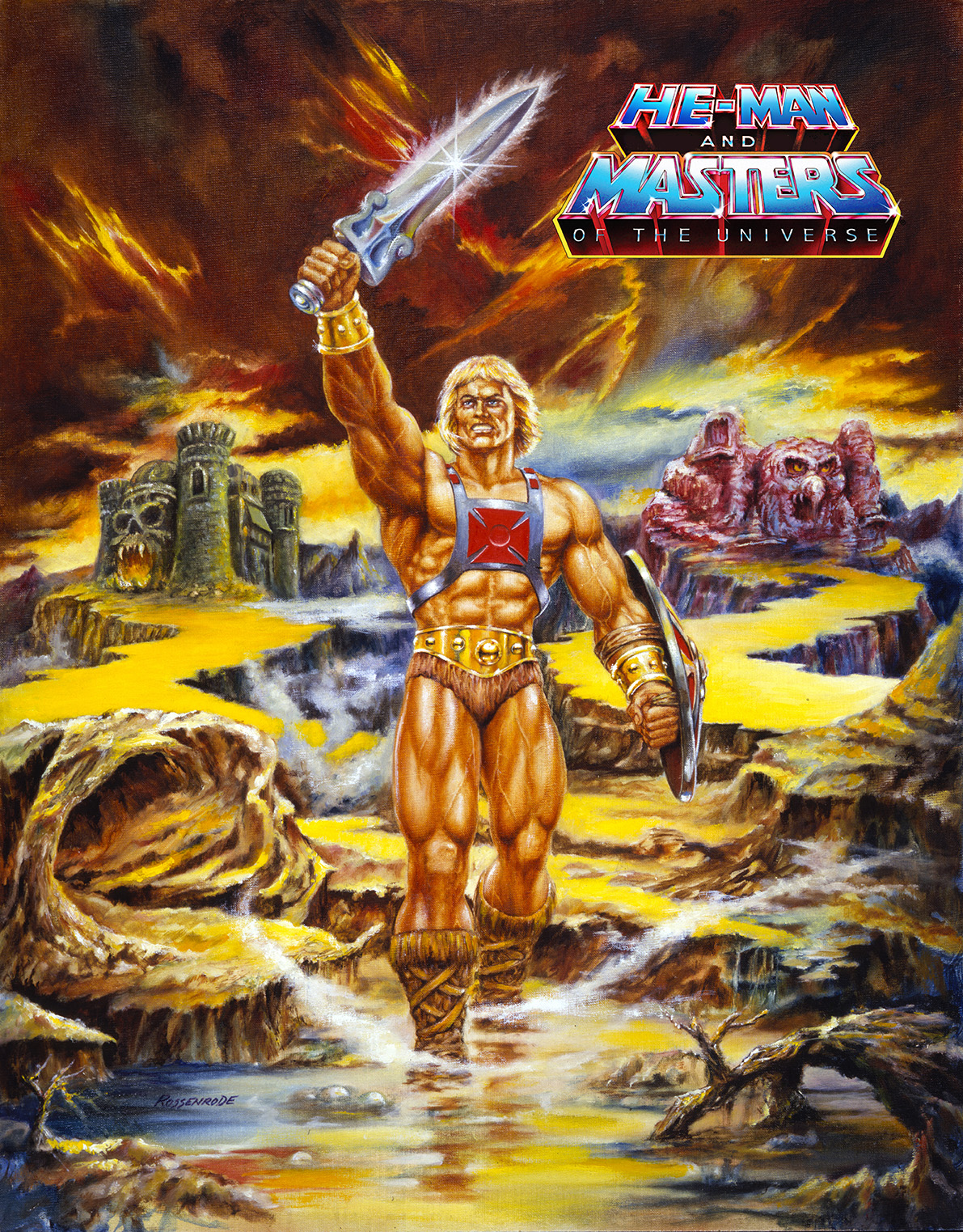 He-Man poster small