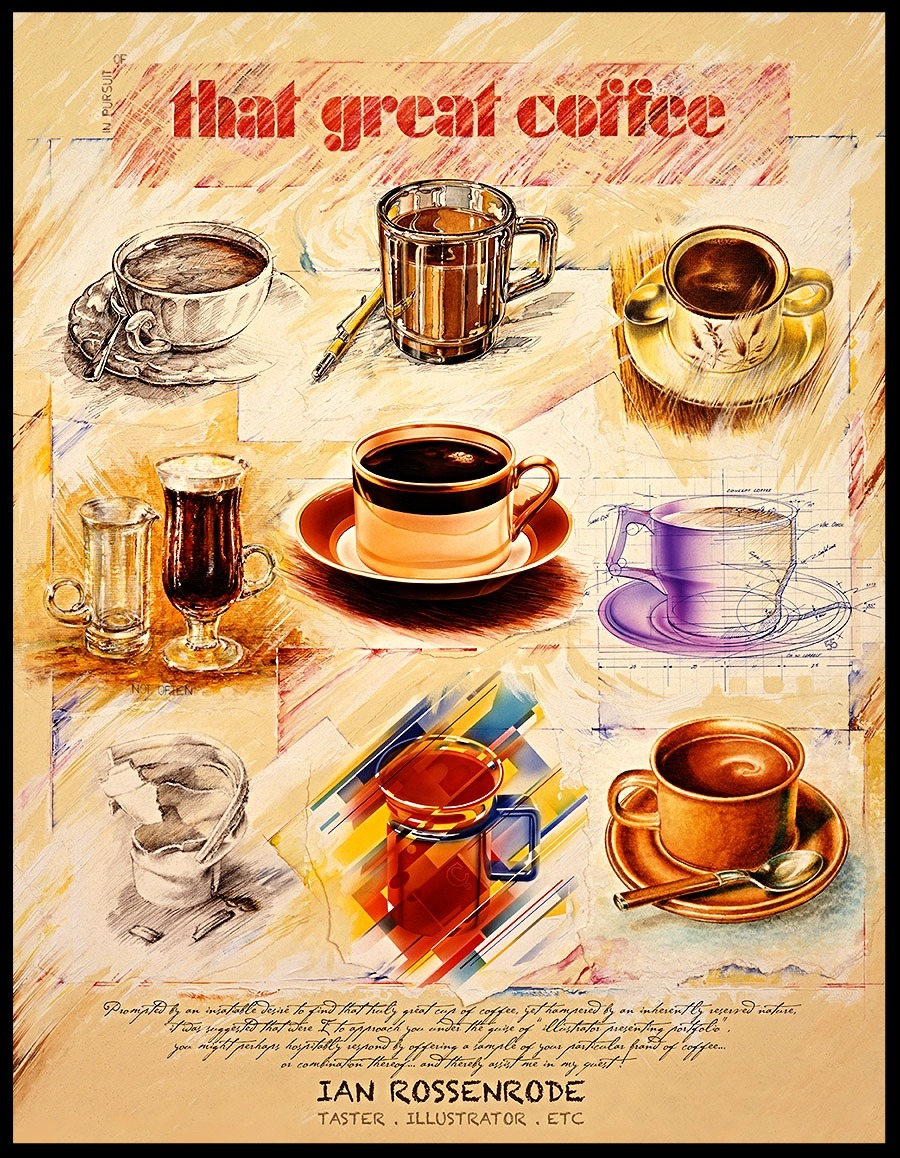 coffee promo poster