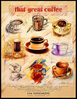 coffee promo poster