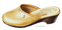 Scholl shoe illustration