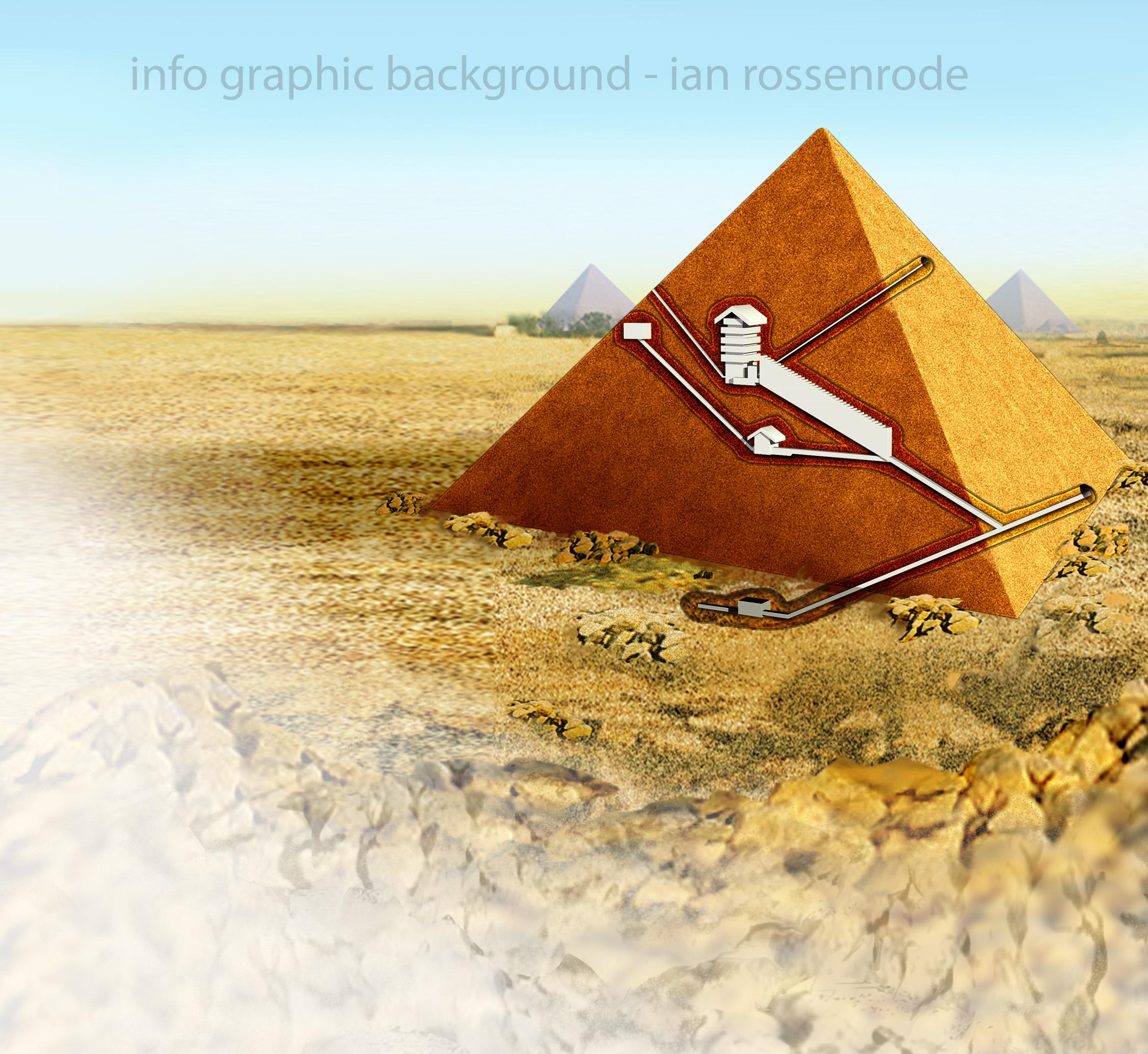 pyramid scene
