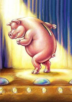 Dancing Money Box Pig