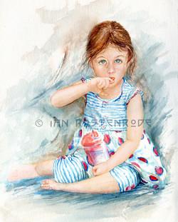 Taytoes watercolor