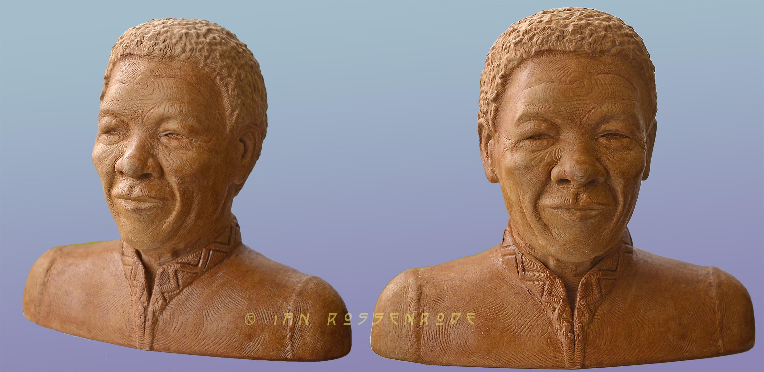 Mandela wood 3D print