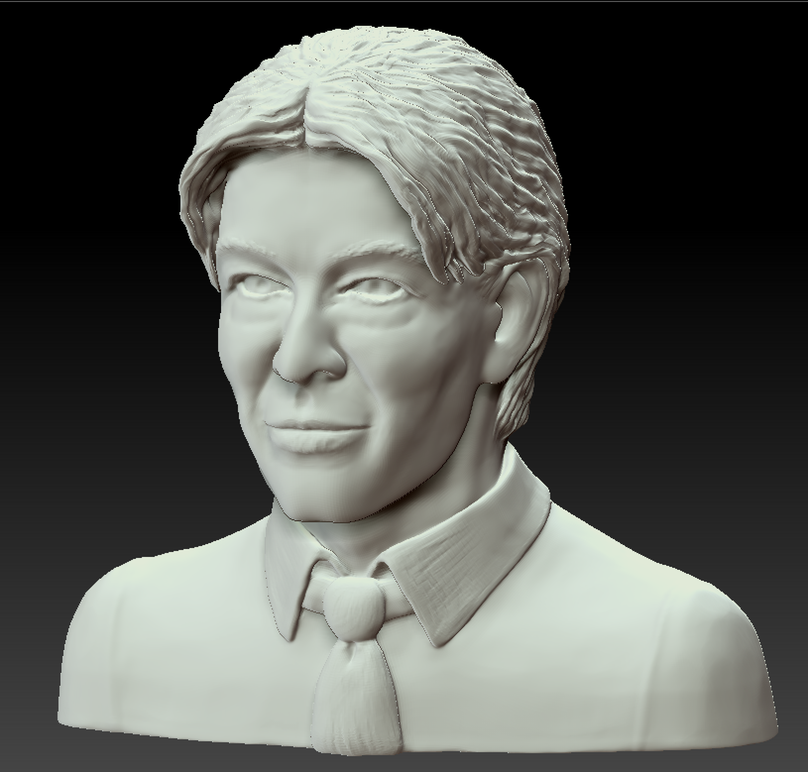 Bowie 3D ready for printing