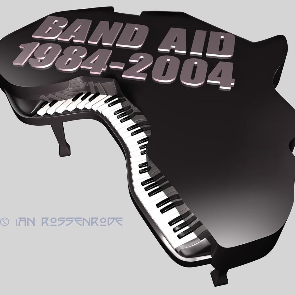 LIVE AID logo concept