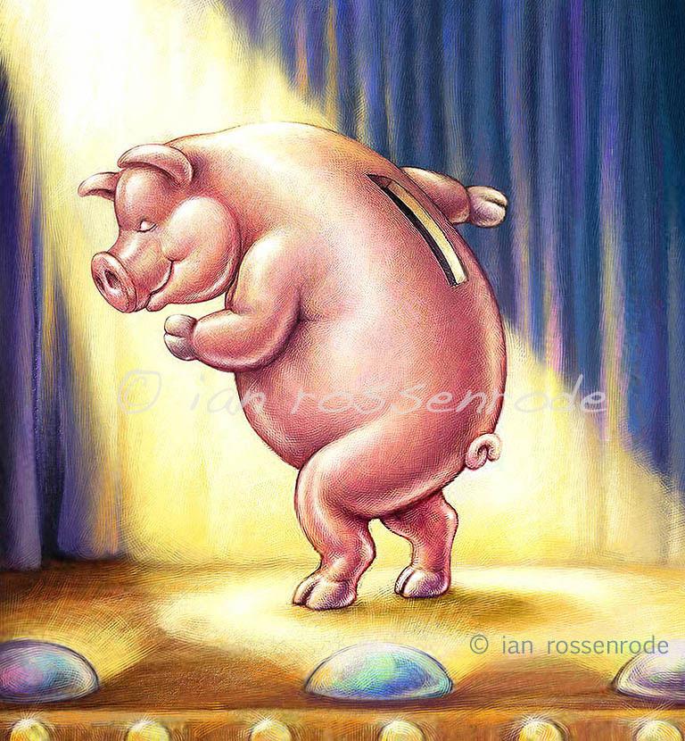 Dancing Piggybank