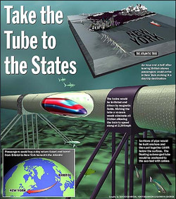 'Atlantic Tube' info graphic