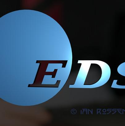 EDS Logo 3D