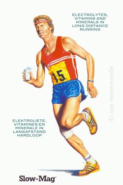 'Slo-Mag' runner illustration