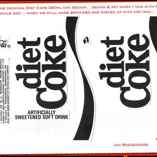 Diet Coke can design