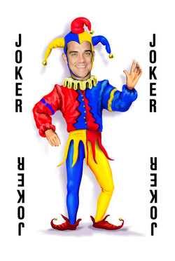 Robbie Williams joker