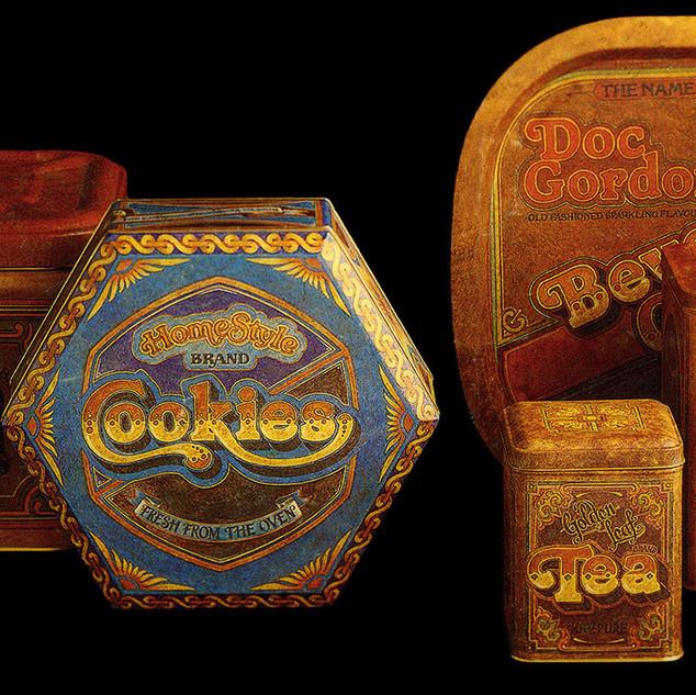 Antique Cannister range