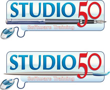 logo design and banner