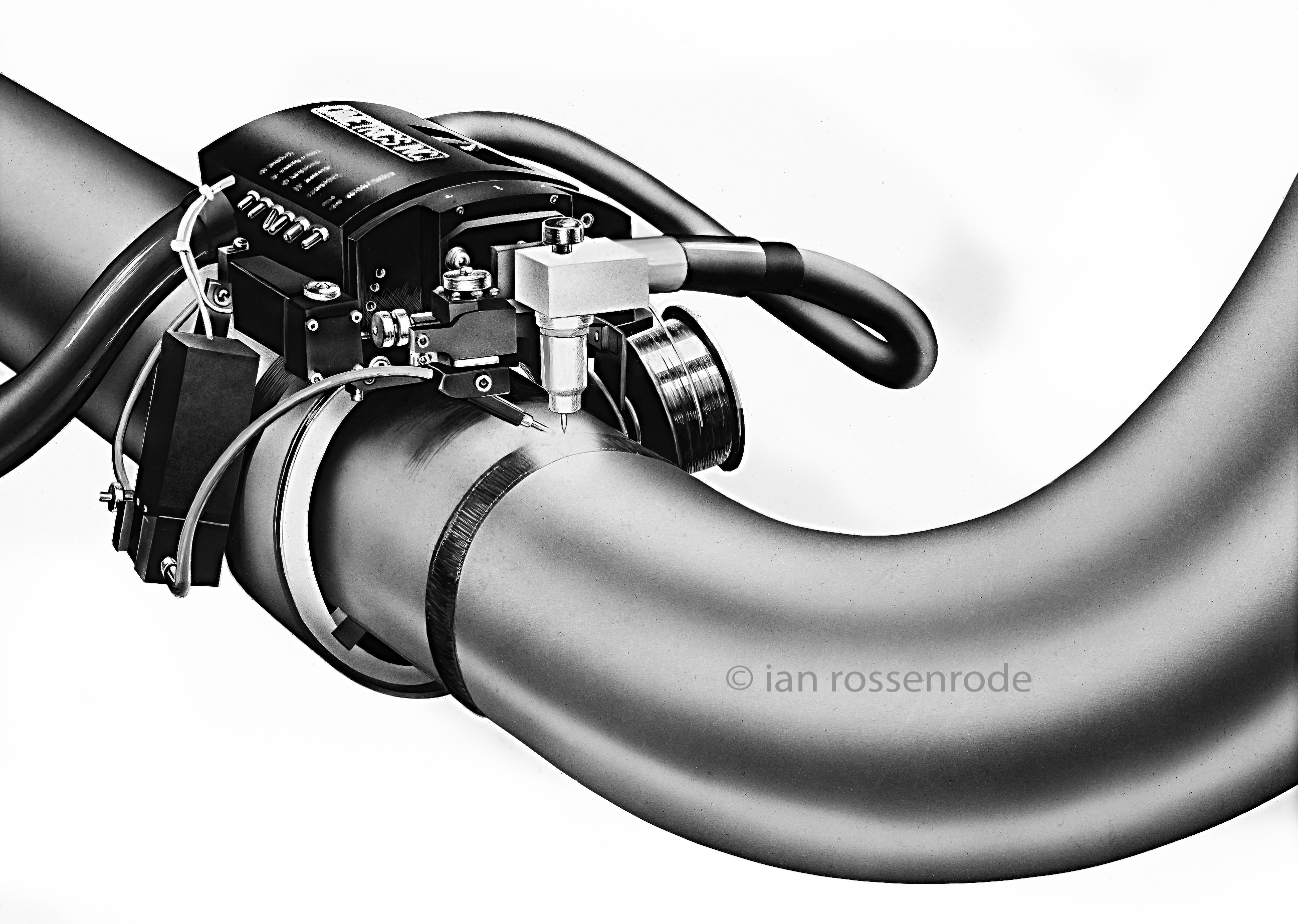 Pipe Welding illustration
