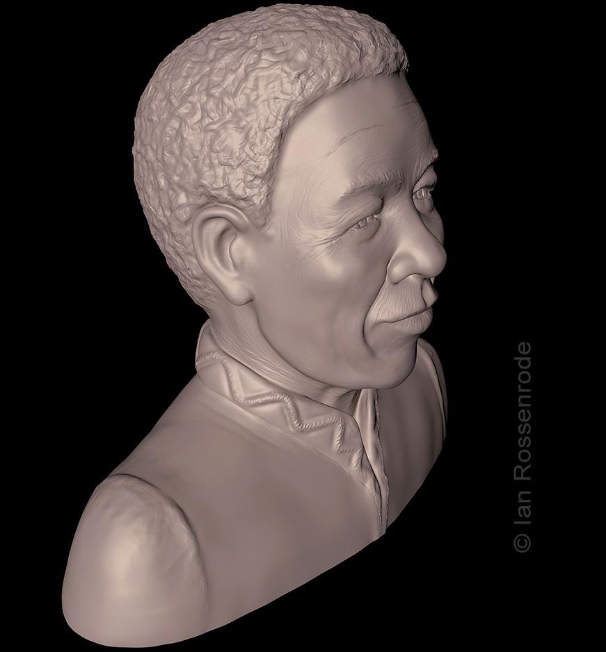 Mandela 3D print