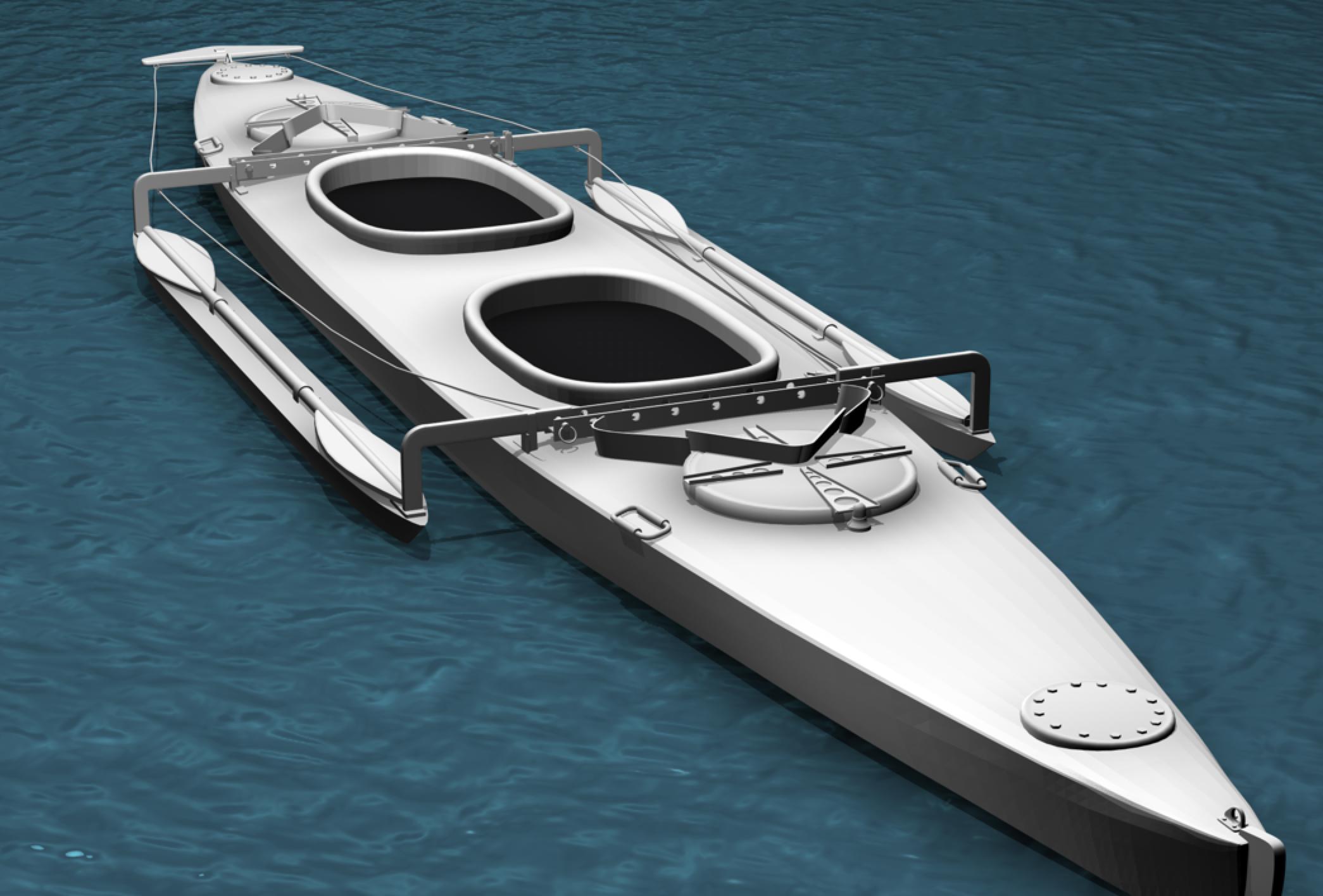 alloy canoe