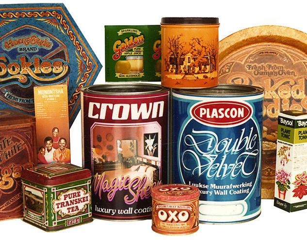 packaging tins - design