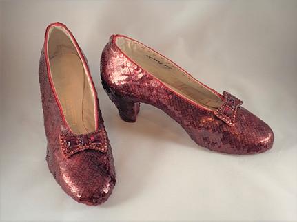 Randy Struthers Replica Ruby Red Slipper