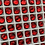 Thumbnail: Vintage Reproduction Honeycomb Rhinestones for Arabian Ruby Slippers