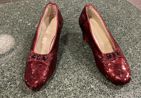 Replica Ruby Slippers by Randy Struthers