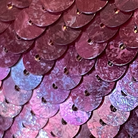 Aged Metallic Burgundy Sequins, aging detail .jpg