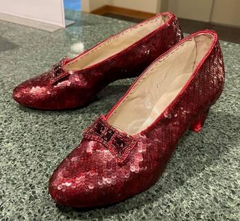 Aged Burgundy Ruby Slippers by Randy Str