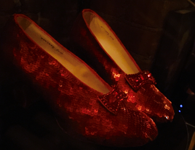 Replica Ruby Red Slippers by Randy Struthers