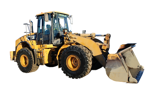 front end loader machinery