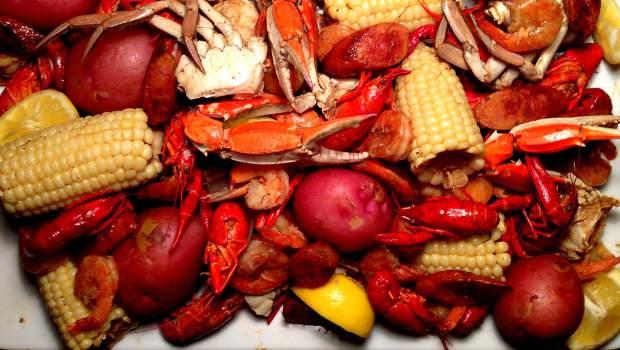 Crab Crawfish Boil