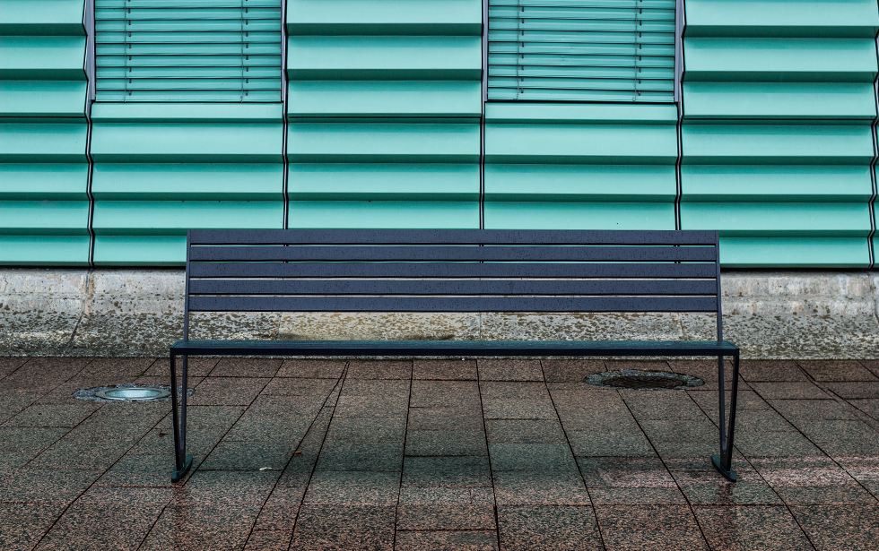 Parkbank in HARD | m.köb möbel