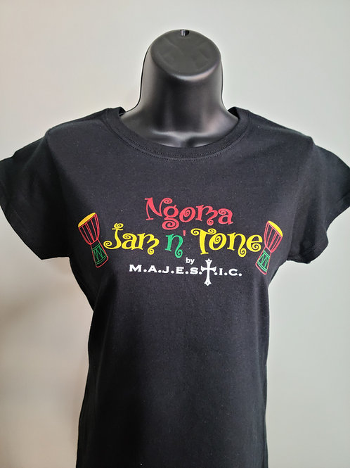 Ngoma Jam n' Tone T-Shirt | Ladies Cut
