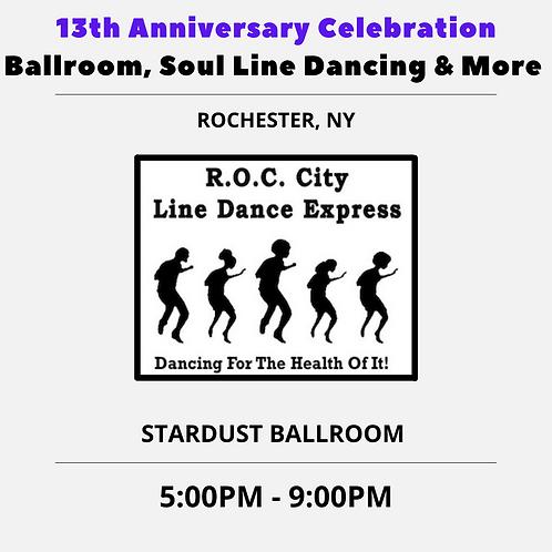 13th Anniversary Celebration Event