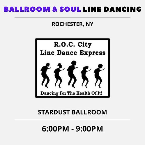 July 24th - SOUL LINE DANCING