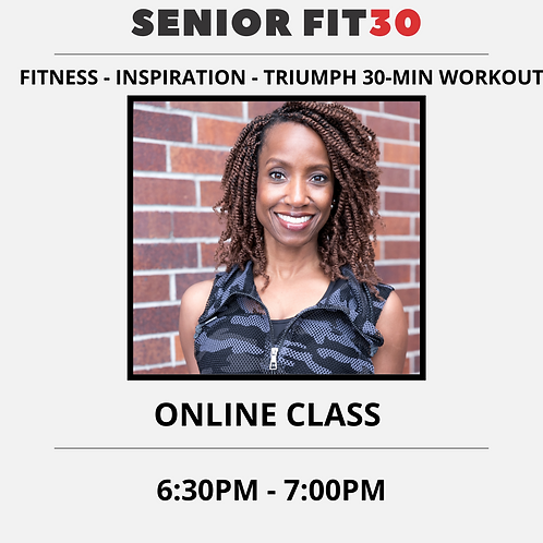 APRIL 13 - SENIOR FIT30
