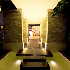 Night Time Entrace