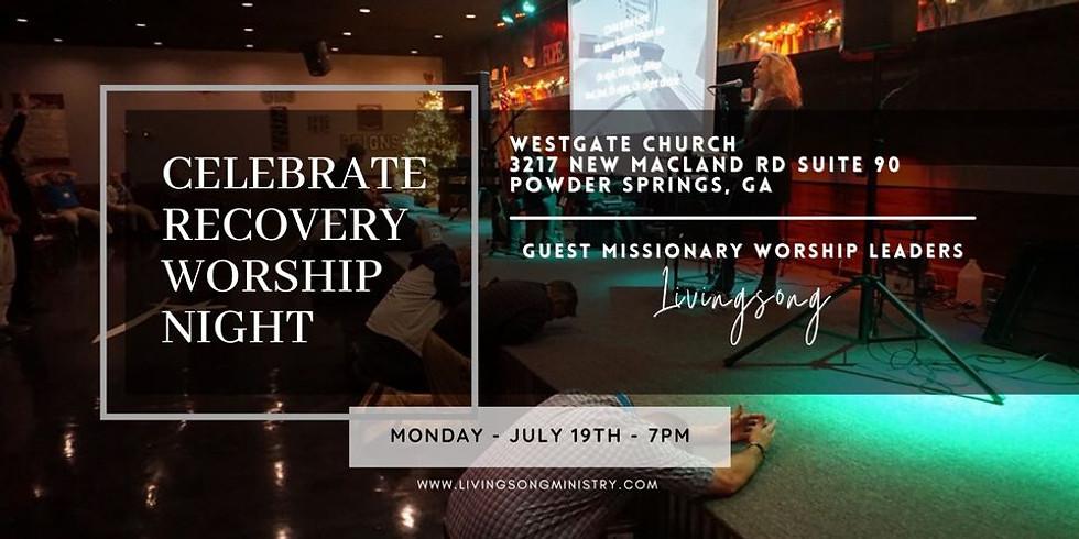 Celebrate Recovery Worship Night