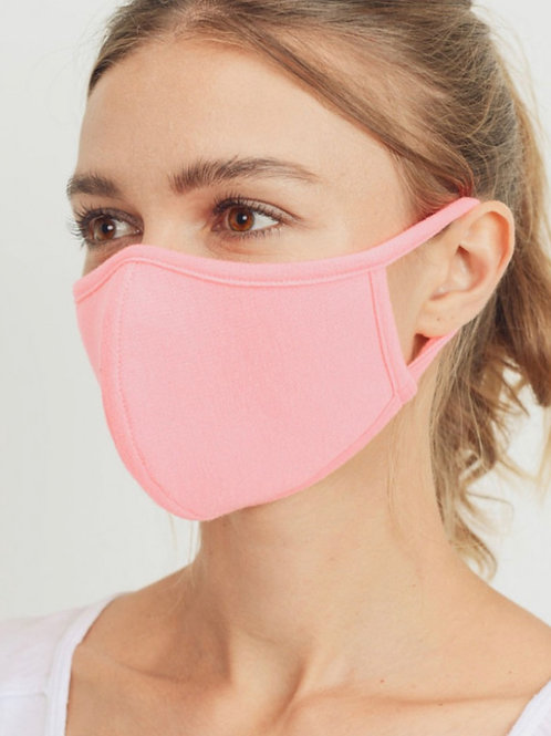Neon Pink Mask