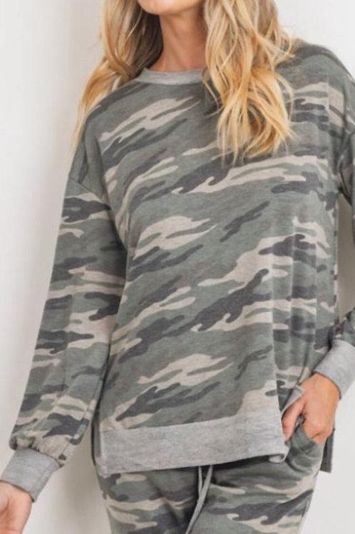 Camouflage Sweatsuit Combo