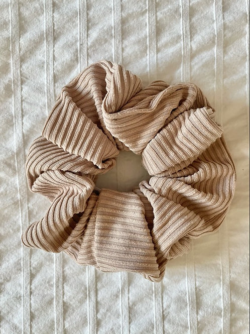 Beige Ribbed