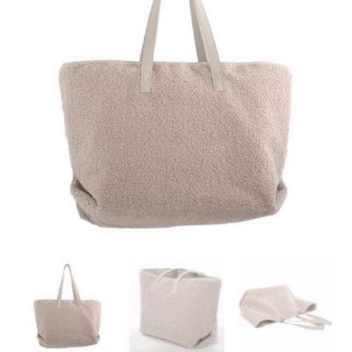 Teddy taupe bag