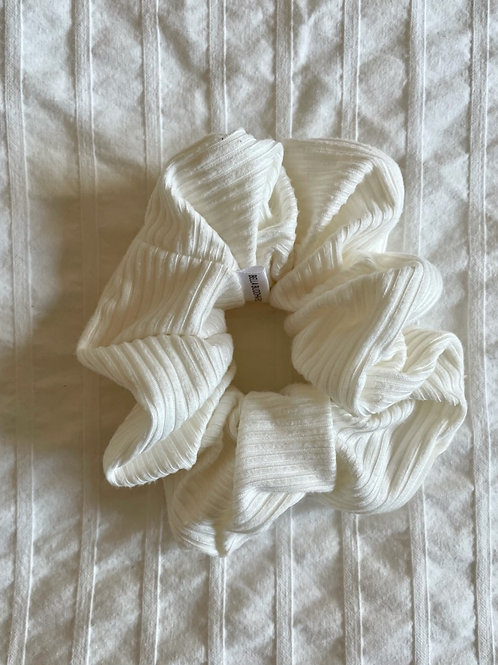 White Ribbed