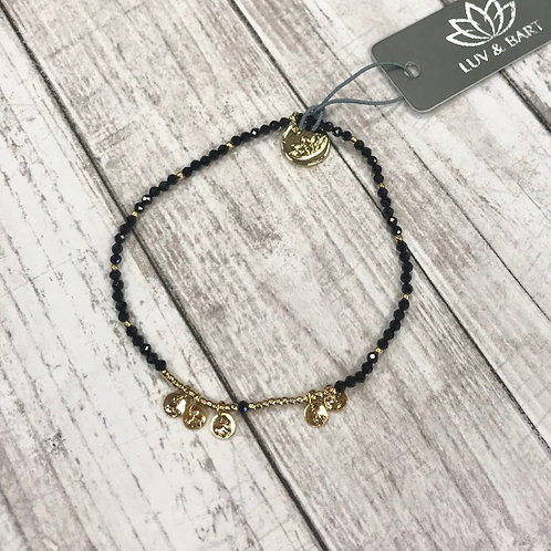 Black and Gold Wrap
