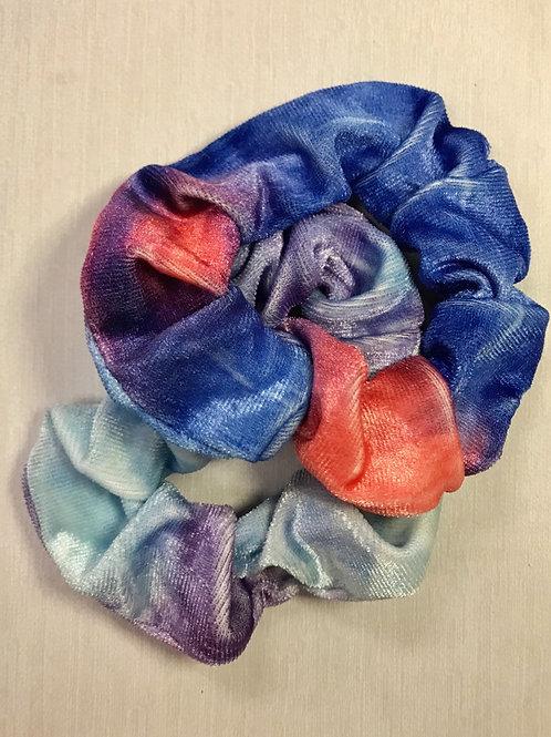 Mini Tye Die light blue & blue/pink combo